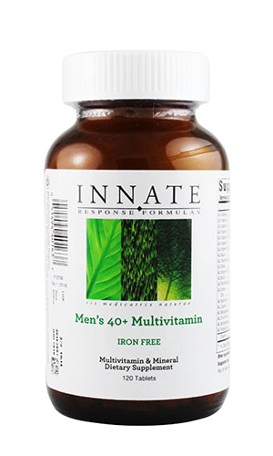 Men's  40+ Multivitamin(철분 Free) 120 tabs (Whole food) 40세 이상 남성용