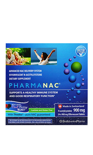 PharmaNAC 900 mg 24 tablets