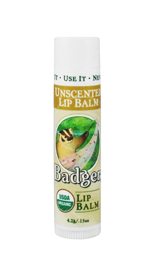 Uncented Lip Balm Organic .15 oz