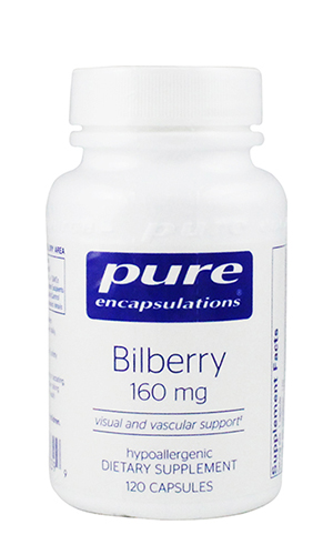 Bilberry-PURE 160 mg 120 vcaps