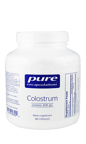 Colostrum 40% IgG 450 mg 180 vcaps
