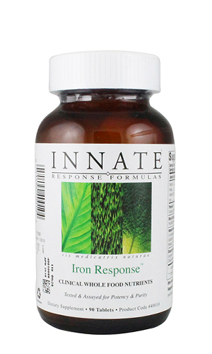 Iron Response 90 Tablets (Whole food)