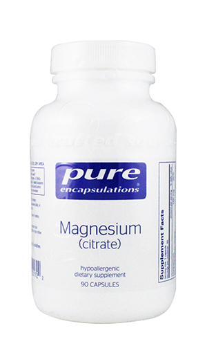 Magnesium Citrate 150 mg 90 vcaps