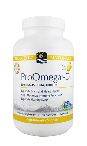 Omega Oil, ProOmega-D 180 softgels