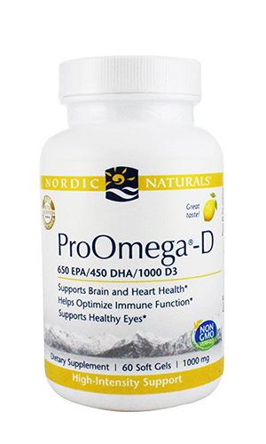 Omega Oil, ProOmega-D 60 softgels