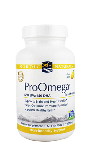 Omega Oil, ProOmega fish-gelatin 60 softgels