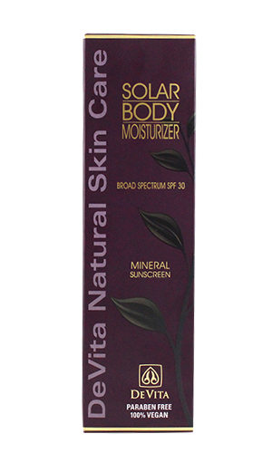 Solar Body Moisturizer SPF 30+ 7 oz (210 ml)