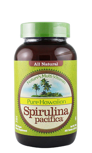 Spirulina (Nutex Hawaii) 500mg 400 tablets